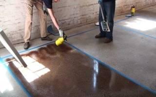 Чем лучше покрасить бетонный пол в гараже?
