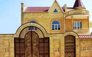 Дагестанская плитка для фасадов