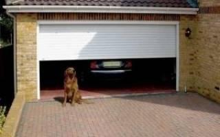 Пристрой гаража к дому на отдельном фундаменте