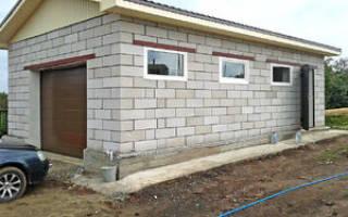 Строительство гаража из газобетона своими руками