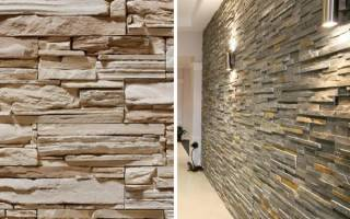 Как правильно клеить декоративный камень?
