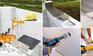 Как правильно строить дом из газобетона?