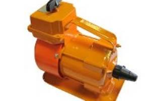 Глубинные вибраторы для бетона характеристики