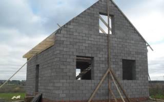 Какой фундамент лучше для дома из керамзитоблоков?