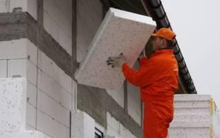Как правильно утеплить дом из газобетона снаружи?