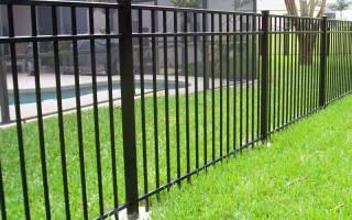 Как сварить забор из профильной трубы?