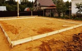 Какой песок нужен для фундамента?