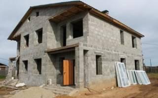 Построить дом из полистиролбетона своими руками