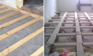 Как крепить обрешетку к бетонной стене?