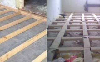 Как прикрепить брусок к бетонной стене?
