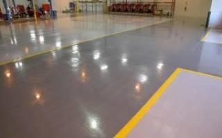 Как укрепить бетонный пол в гараже?