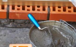Как правильно замесить цементный раствор?