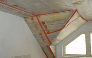 Как правильно постелить пароизоляцию на потолок?