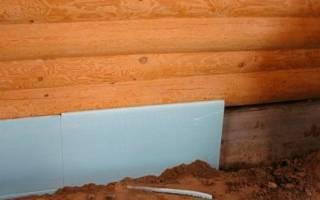 Утеплить подпол в деревянном доме