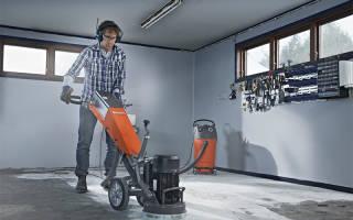 Машинка для шлифовки бетона
