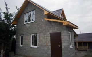 Как утеплить дом из керамзитобетонных блоков снаружи?