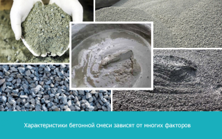 Марка и класс бетона различия