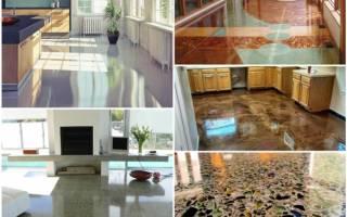 Технология шлифовки бетонного пола