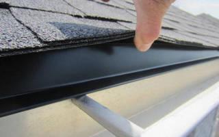 Как правильно установить капельник на крышу?