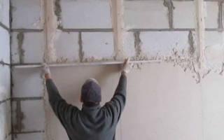 Шпаклевка по бетону для внутренних работ