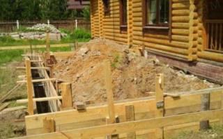 Как залить фундамент для пристройки к дому?