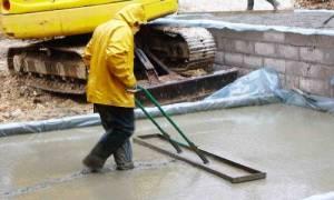 Можно ли заливать фундамент в дождь?