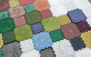 Сухие красители для бетона