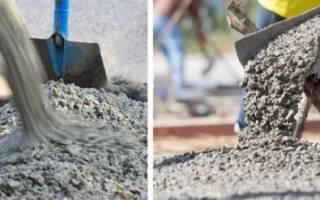 Как сделать цементный раствор для фундамента?