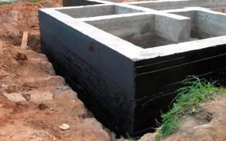 Чем гидроизолировать фундамент снаружи?