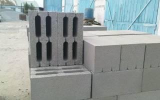 Пескоцементный блок характеристики