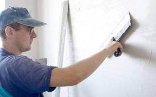 Как правильно шпаклевать бетонные стены?