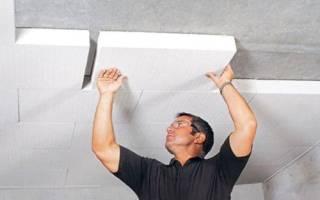 На что клеить пенополистирол к бетону?