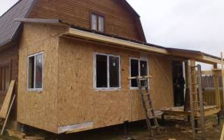 Толщина ОСП для стен каркасного дома