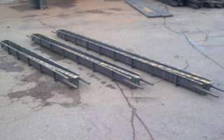 Изготовление столбов для забора из бетона