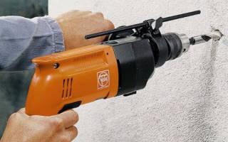 Как сверлить бетонную стену перфоратором?
