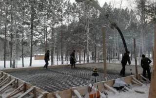 Подогрев бетона электродами