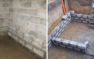 Блоки для погреба какие лучше?