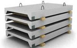 Усиление ребристых плит Перекрытие