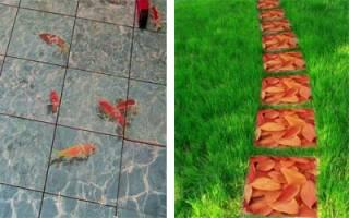 3d тротуарная плитка своими руками