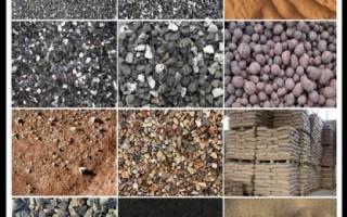 Подсыпка под фундамент песок или щебень