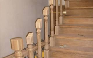 Крепление деревянной лестницы к перекрытию