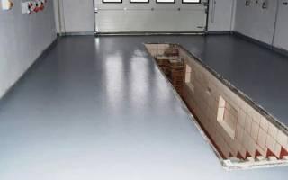 Как выровнять бетонный пол в гараже?