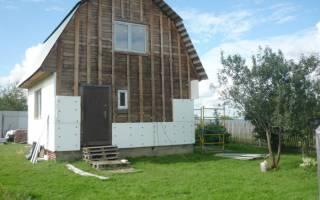 Можно ли обшивать деревянный дом пенопластом?